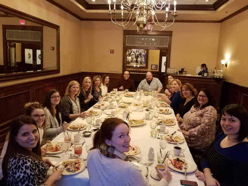 annual team dinner GPM