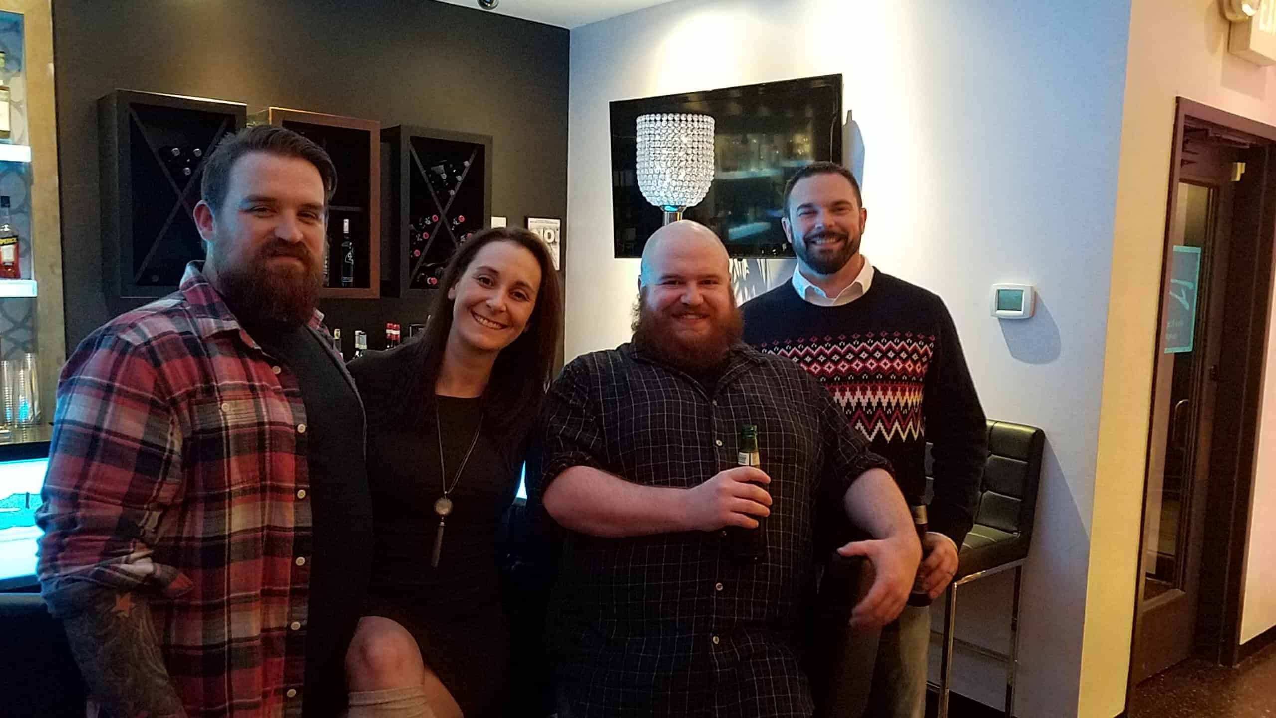Web team Christmas photo GPM 2019 - Golden Proportions Marketing