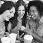 Girls smiling and laughing - Golden Proportions Marketing