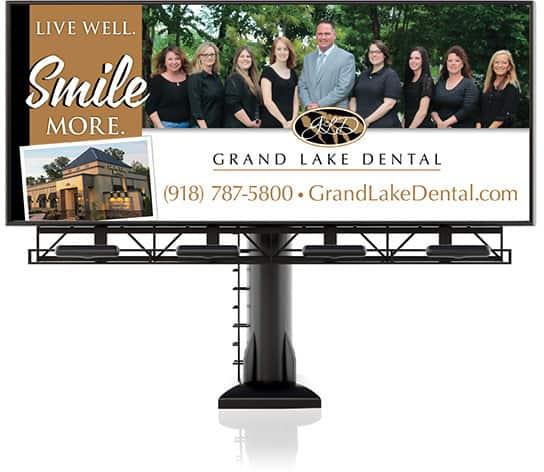 dental billboards - Golden Proportions Marketing