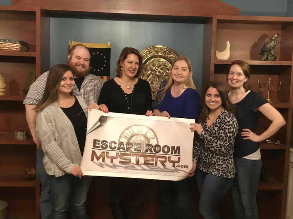 team escape room