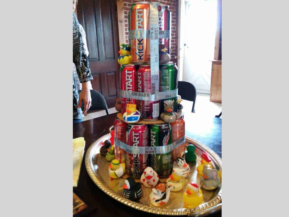 baby shower tower