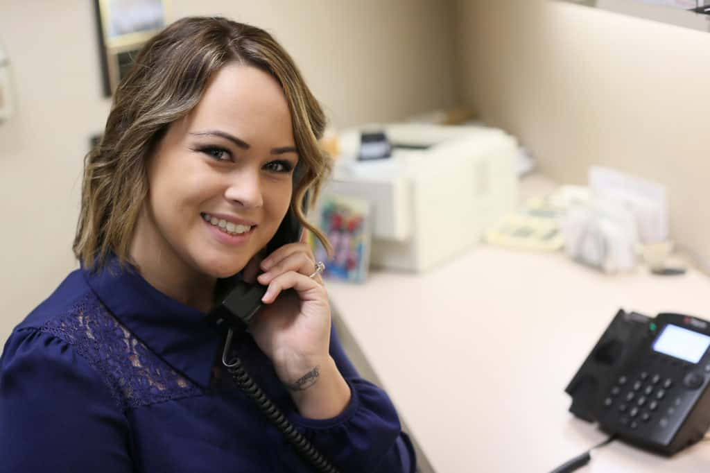 new dental patient phone call