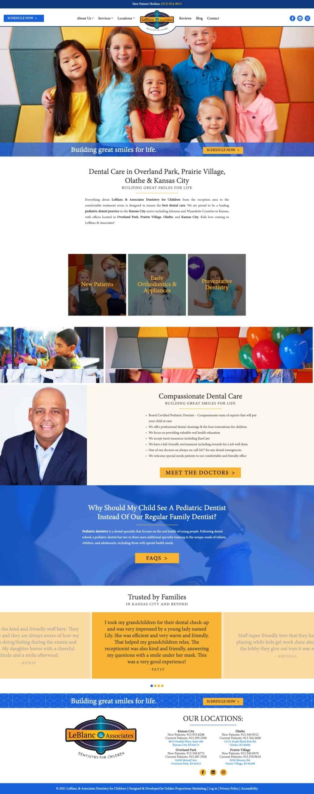 LeBlanc & Associates Dentistry for Children
